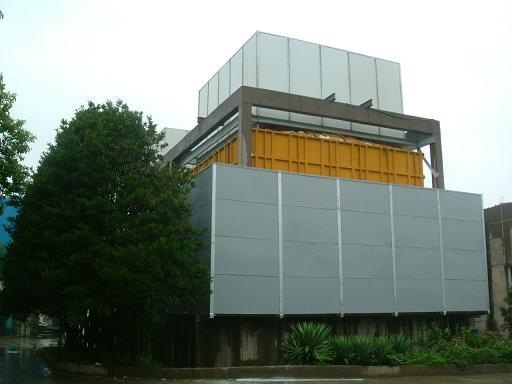 冷却塔主要靠机械通风冷却循环